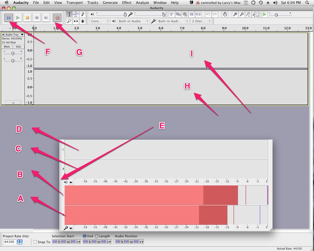 Audacity Window component break-out