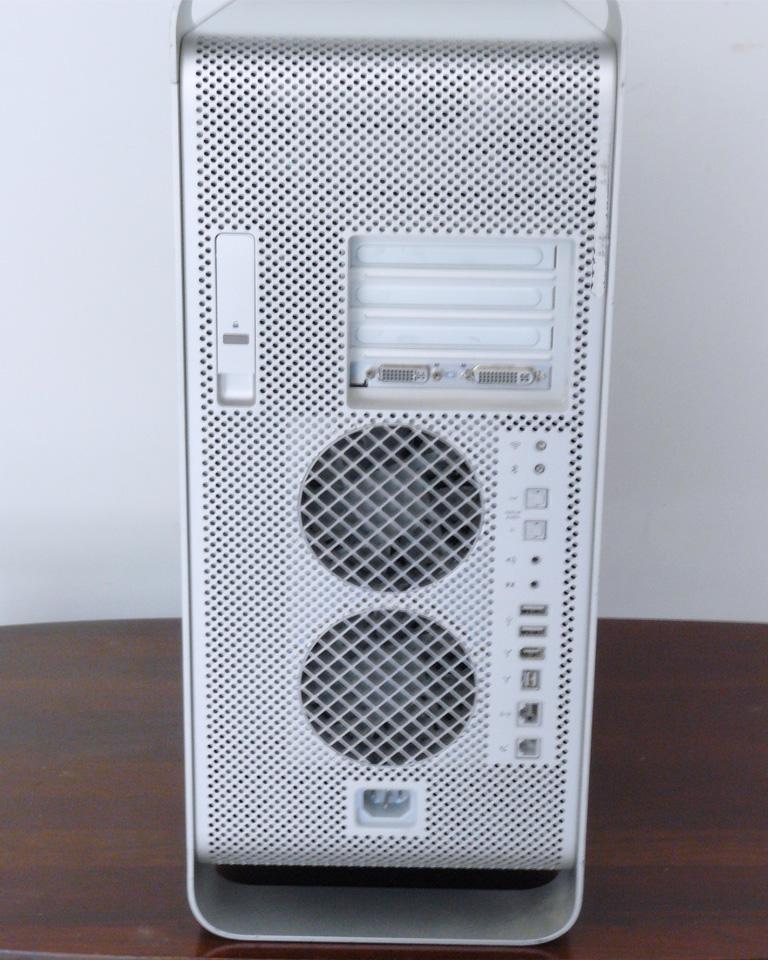 Mac Pro G5 Rear View