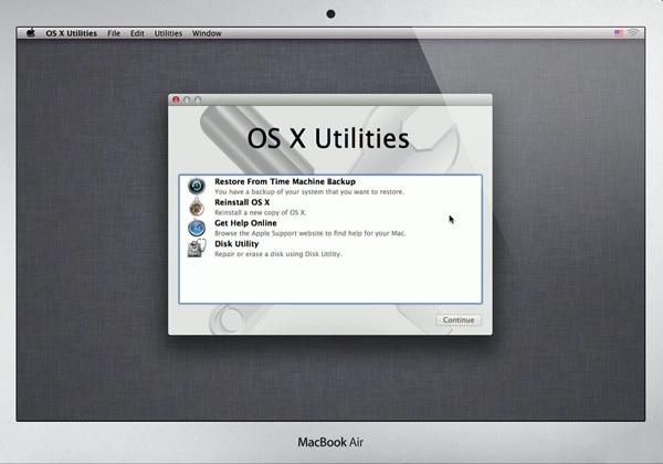 OS X Restore Utilities