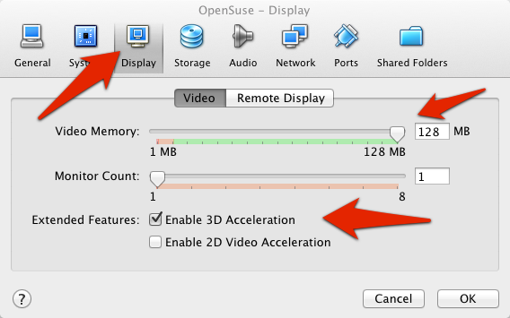 VirtualBox video memory adjustment | larrytalkstech.com