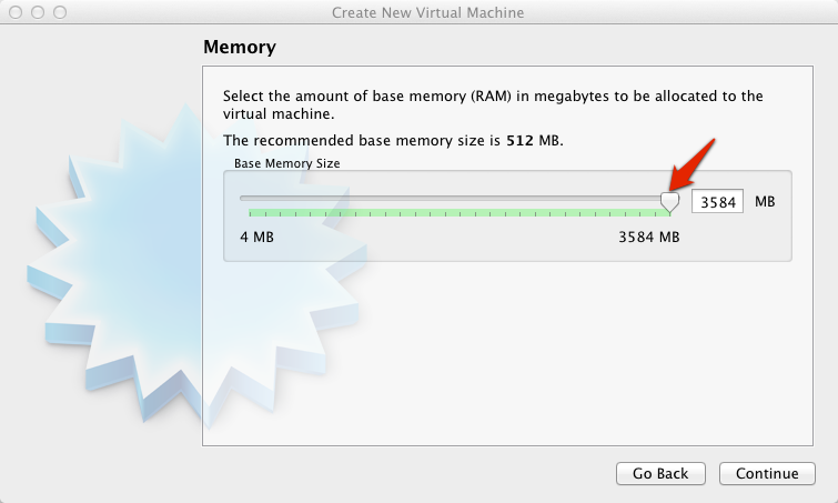 Virtual Box Select Memory | larrytalkstech.com
