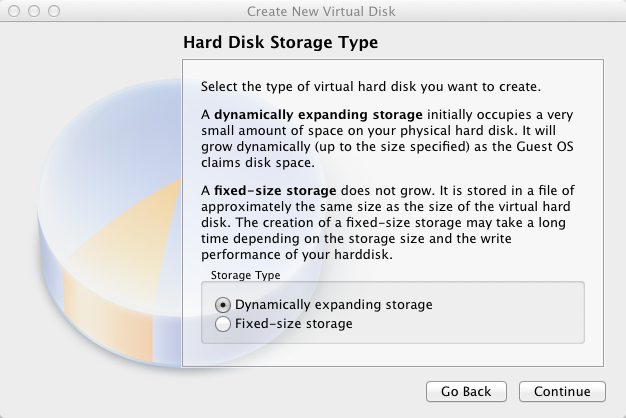 Virtual Box Select Storage Type | larrytalkstech.com