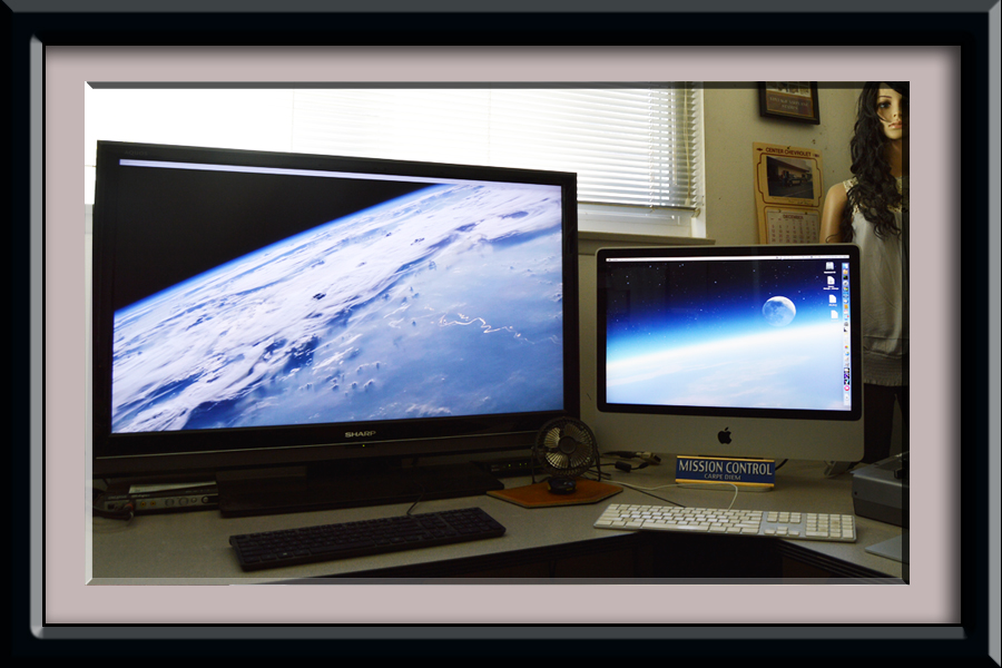 how to use the second computer as a monitor