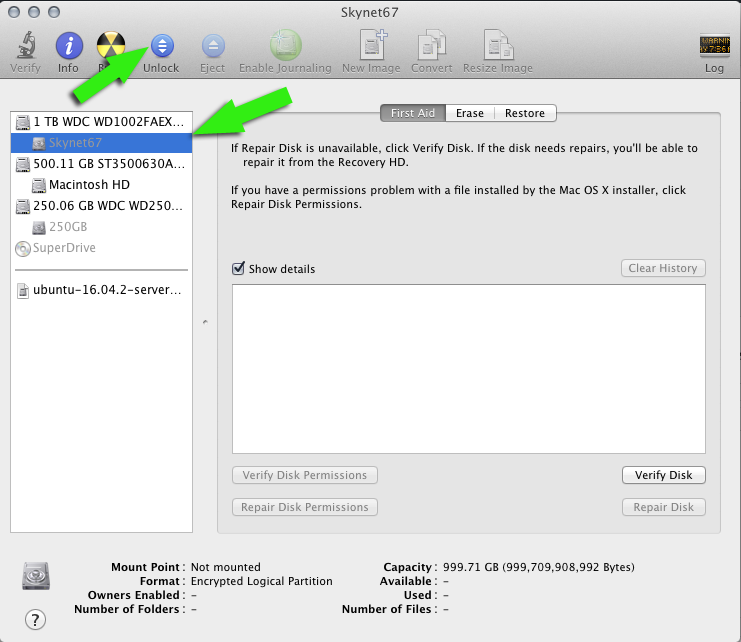 Open encrypted drive from Disk Utility   larrytalkstech.com